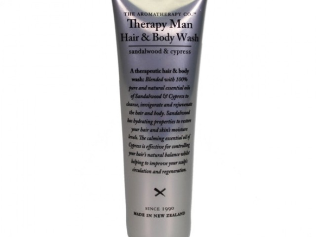The Aromatherapy Company Man Therapy Hair & Body Wash – 30mL