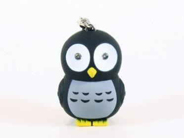 Owl LED Keyring