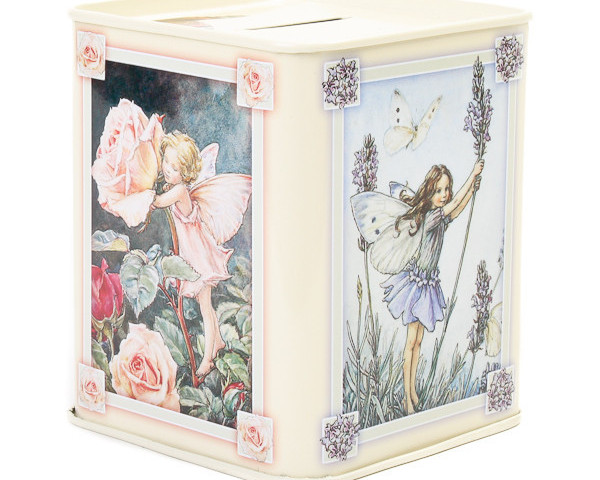 Flower Fairy Money Box