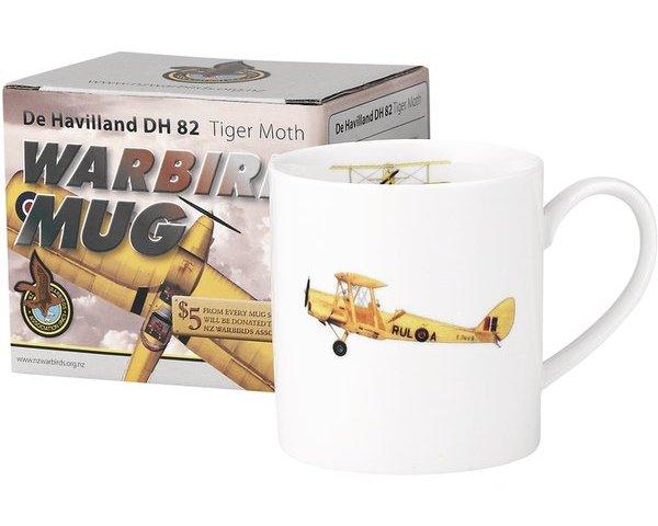 Warbird Tiger Moth Mug