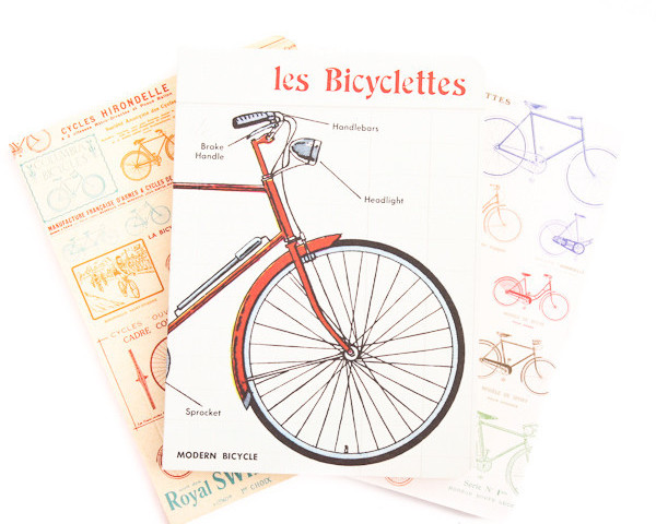 Cavallini Vintage Bicycles Notebook