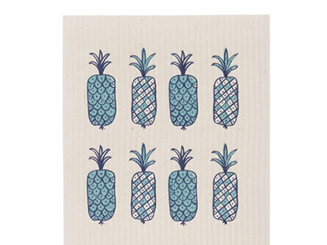 Citta Pineapples Dishcloth
