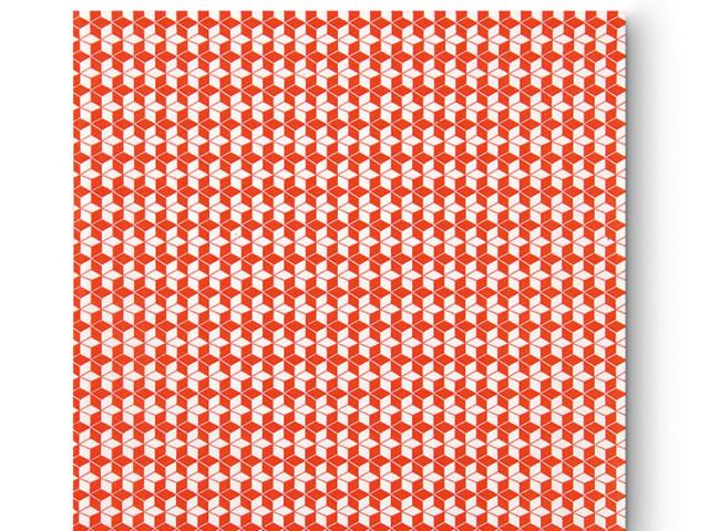 Citta Cubic Star Carp Paper Lunch Napkins