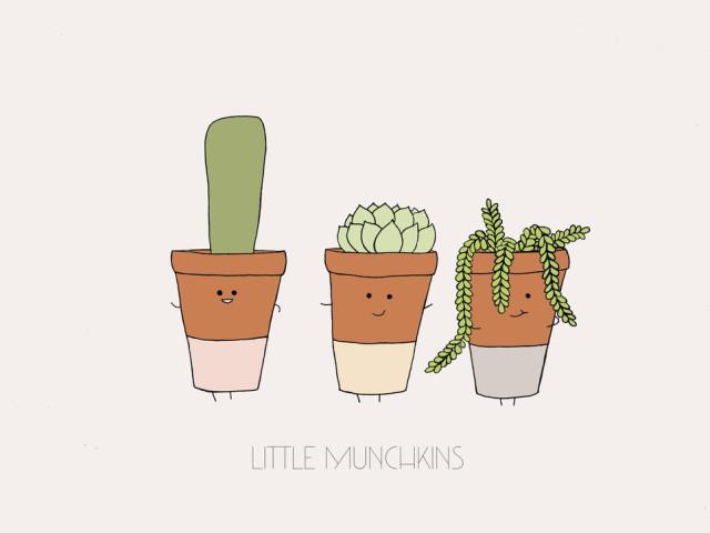 Mia Harper Series – Little Munchkins A4 Print