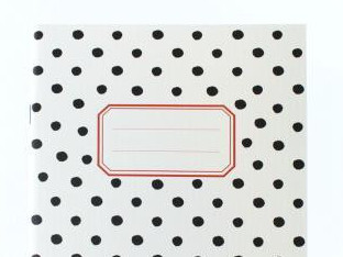 Around Dot Notebook Cream Medium