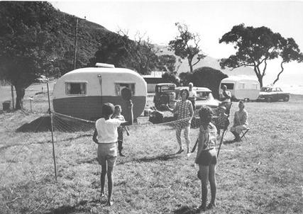 Vintage Photo Caravan Placemat