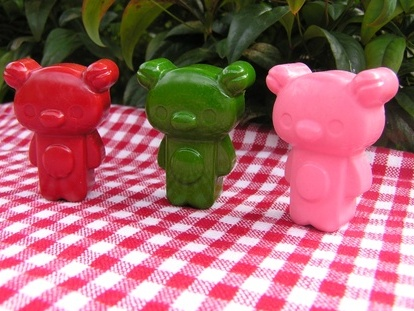 Teddy Bear Crayons (6 per packet)