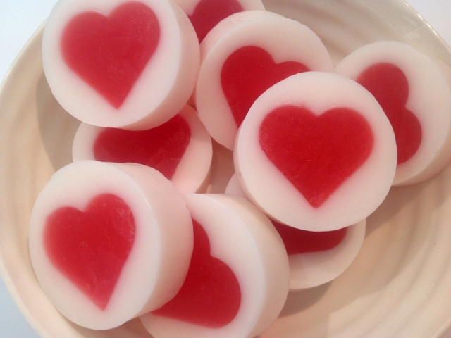 LOVE HEART SOAP