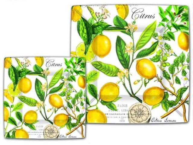 Paper Plates – Lemon Basil