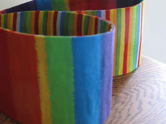 Rainbow custom-made headbands