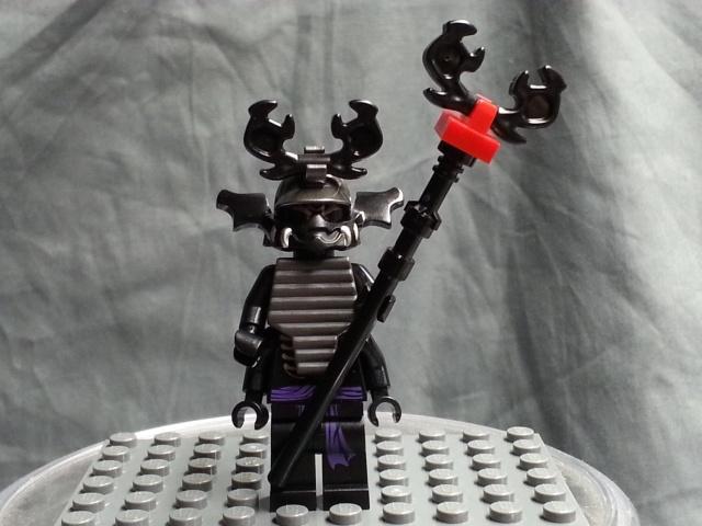 Lego Ninjago Lord Garmadon Mini Figure Final Battle Only