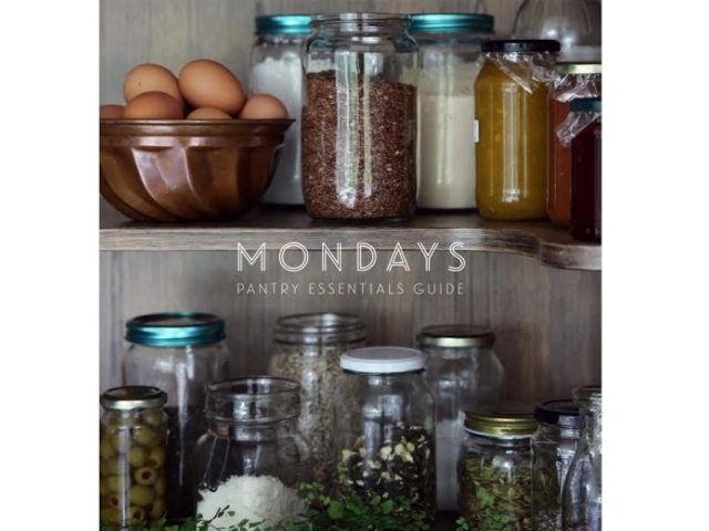 Mondays Pantry Essential e-Guide
