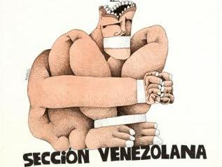Amnesty International Venezuela Poster (1990)