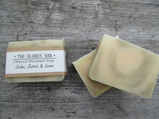Cedar Scotch and Lemon Soap
