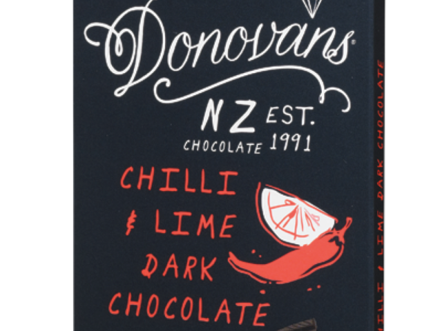 Chilli & Lime 60% Dark Chocolate 100g Bar