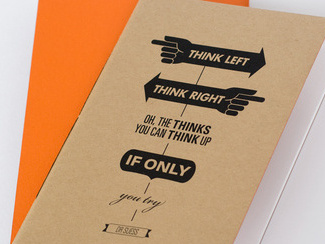 The Think Notebook – pocket size